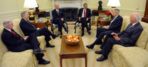 Image: President Obama meeting