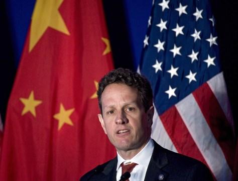 Image: U.S. Treasury Secretary Timothy Geithner