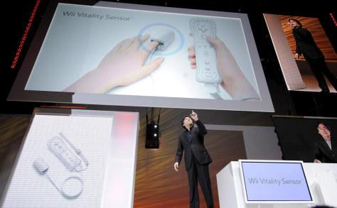 Image: Satoru Iwata, Nintendo Co global president