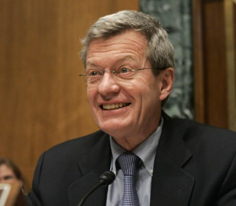 Image: U.S. Senate Finance Committee Chairman Baucus