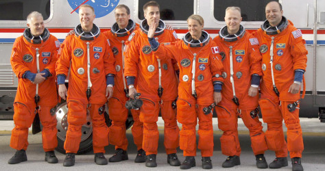 Image:Space shuttle Endeavour crew