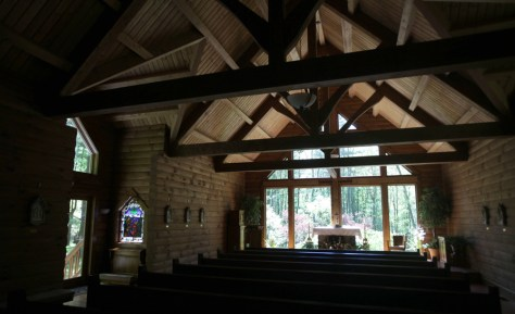Image: Forest Chapel at St. Joseph Institute