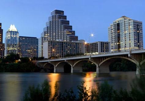Image: Austin skyline