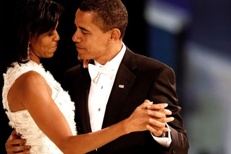 Image: Barack and Michelle Obama, inaugural ball