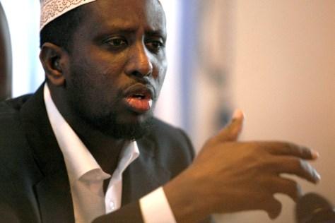 Image: Somalia President Shaikh Sharif Ahmed
