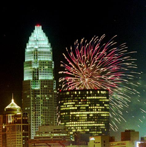 Image: Fireworks Charlotte, N.C.