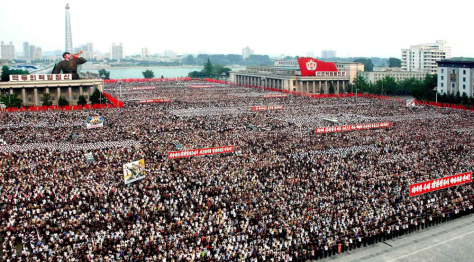 Image: Rally in Pyongyang