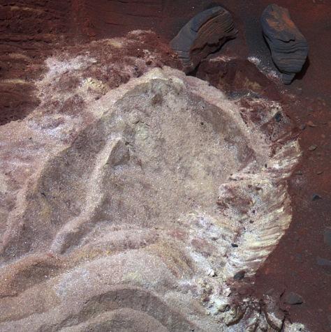 Image: Mars soil