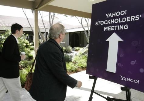 Image: Yahoo meeting