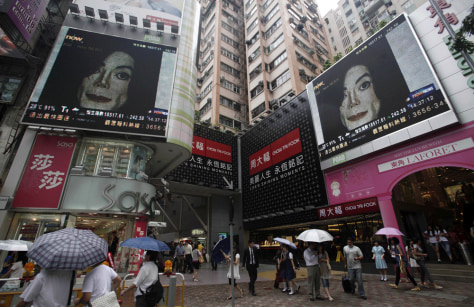 Image: Hong Kong reaction to Michael Jackson's death