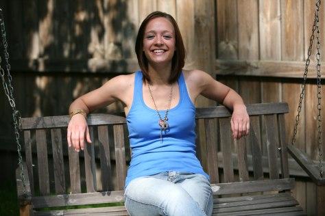 Image: Alexa Sieracki, Class of 2009. Elkhart, Indiana. May 2009