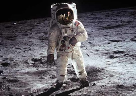 Image: Apollo landing 40 years ago