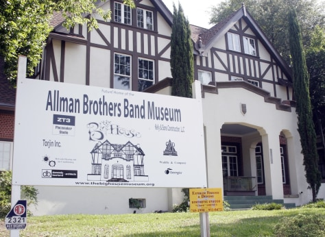 Image: Allman Brothers Band Museum