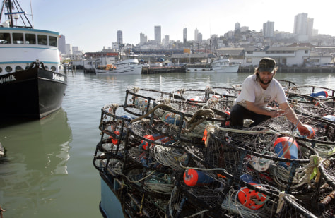 Image: Commercial fisherman
