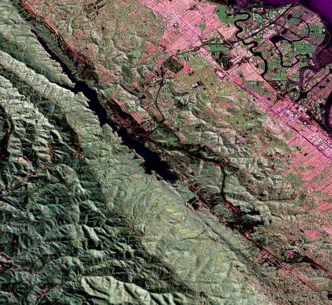 Image: San Andreas fault