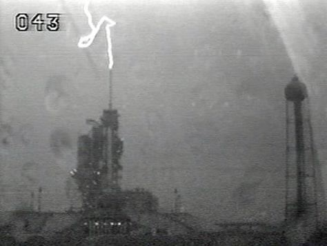 Image: Lightning strike