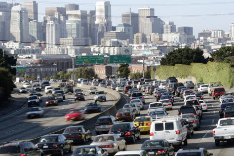 Image: San Francisco traffic