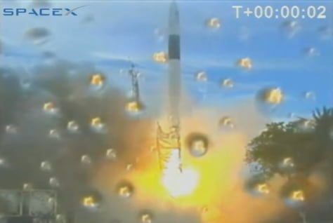 Image: Falcon 1 launch