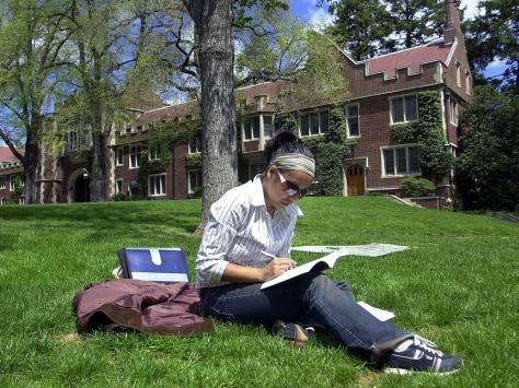 Image: Student at Princeton