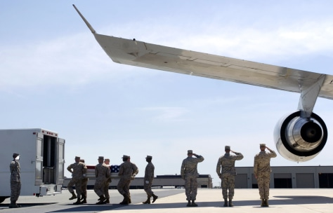 Image: Body returned to U.S.