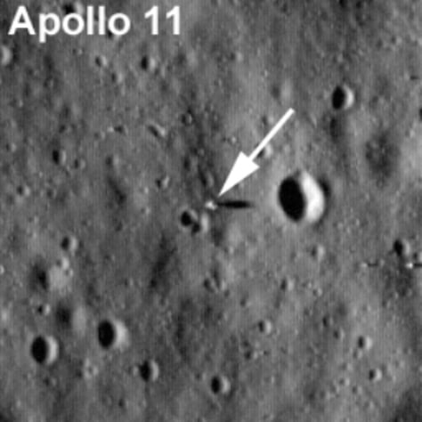 Image: Apollo 11 landing site