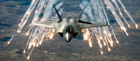 Image: F-22 fighter aircraft