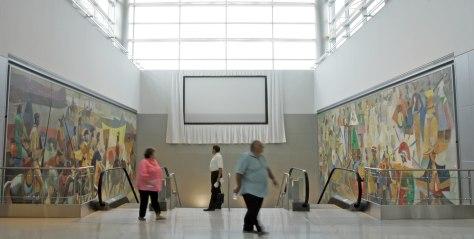 Image: Airport murals
