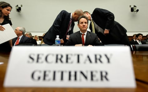 Image: Treasury Secretary Timothy Geithner