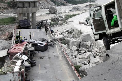 Image: Landslide in China
