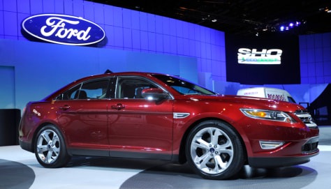 Image: The 2010 Ford Taurus SHO