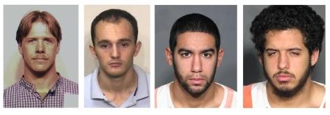 Image: Terrorism suspects