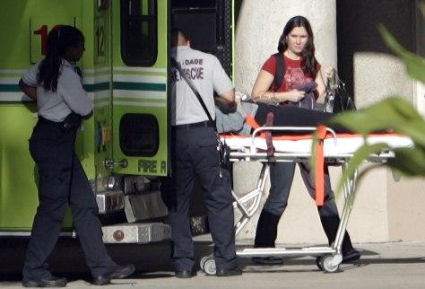 Image: Injured passenger