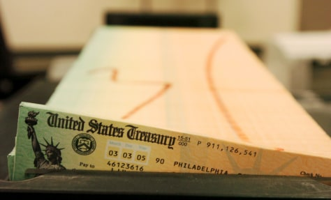 Image: Social Security checks