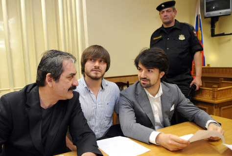 Image: Russian trial