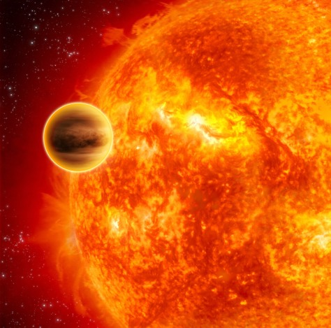 Image: Hot exoplanet