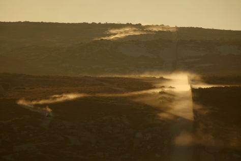 Image: Border patrol near San Diego, Calif.