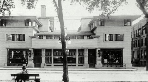 Image: Park Inn Hotel in Mason City, Iowa, in 1911