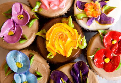 Image: Cupcake Cafe's cupcakes