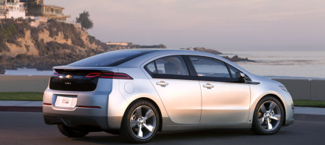 Image: 2011 Chevrolet Volt Production Show Car.
