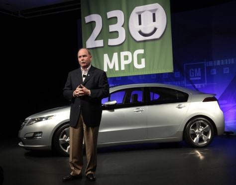 Gm Says Volt To Get 230 Miles Per Gallon In City