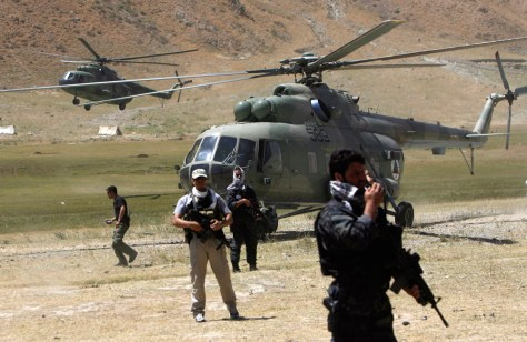 Image: Afghan Army Air Corps helicopter