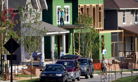 Image: Homes under construction