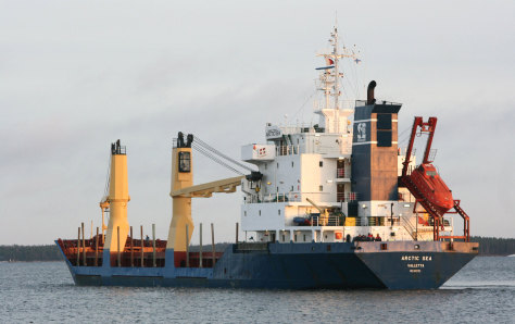 Image: The cargo ship Arctic Sea