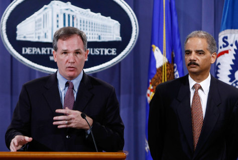 Holder Holds Press Conf. About Indictments Of Mexican Drug Cartel Members