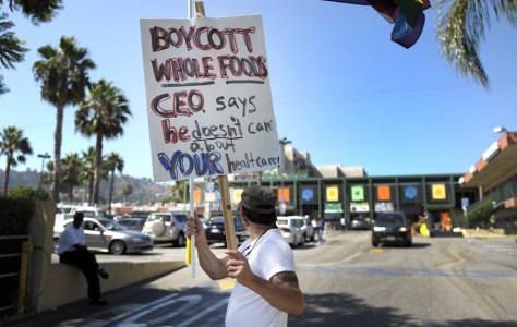 Image: Protestor