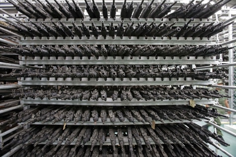 Image: Seized weapons in Mexico City