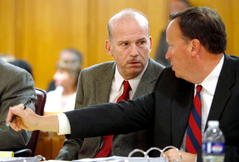 Image: Scott Roeder, left, and attorney Mark Rudy