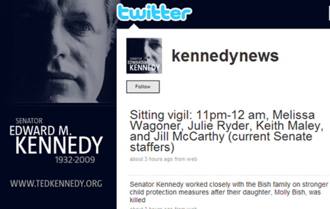 """kennedynews"" Twitter page"