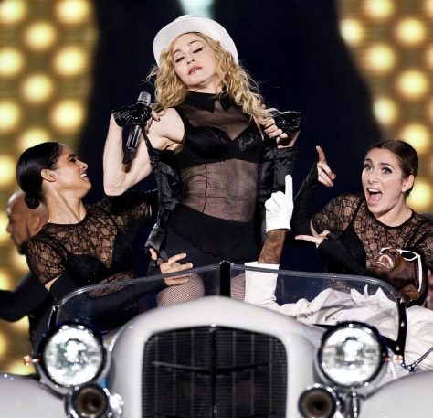 Image: Madonna in Bucharest