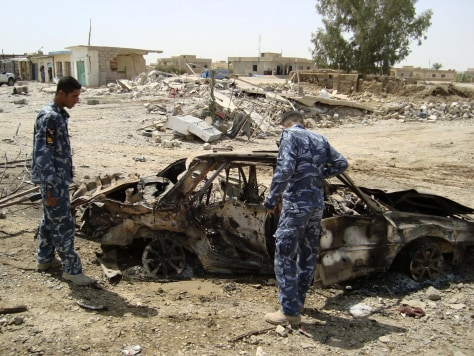 Image: Car bomb attack in Iraq
